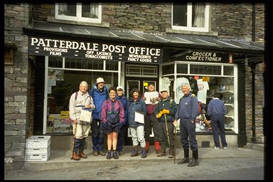 Filling up at Patterdale